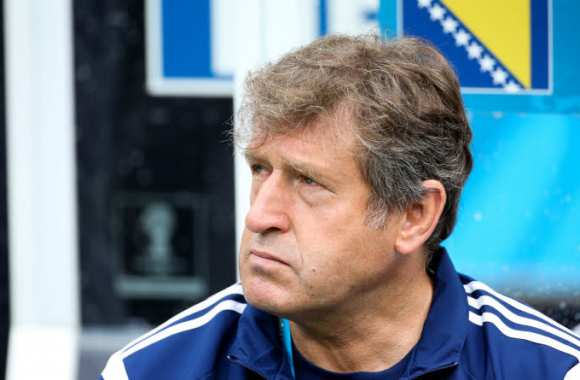 Safet Susic, coach de la Bosnie