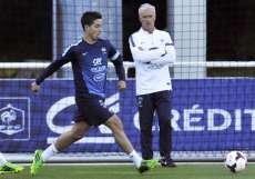 Samir Nasri et Didier Deschamps.