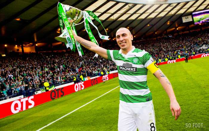 Scott Brown, capitaine du Celtic