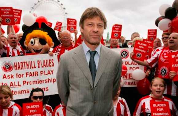 Sean Bean, Monsieur Sheffield !
