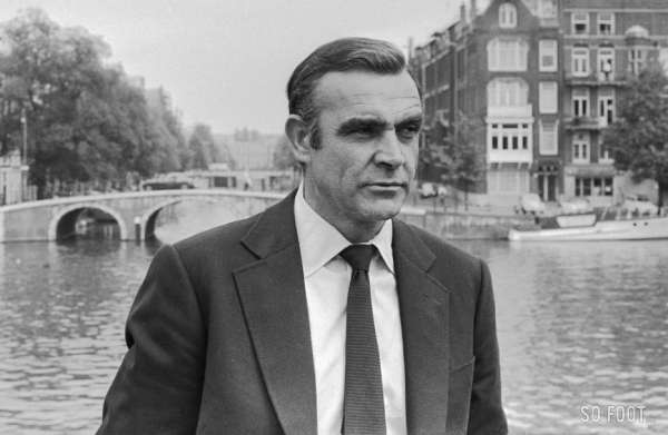 Sean Connery, l'espion qui aimait le football