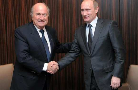 Sepp et Vladimir, en photo call