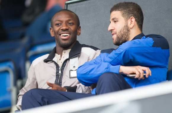 Shaun Wright-Phillips et Adel Taarabt