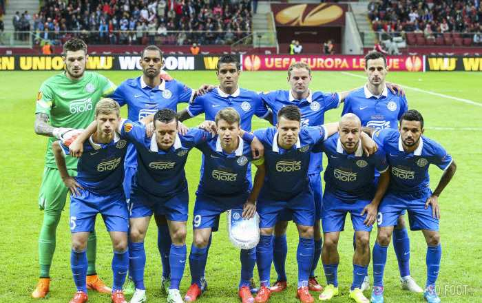 Silence, le FK Dnipro coule