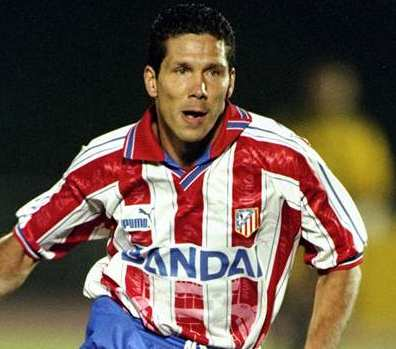 Simeone à l'Atletico Madrid