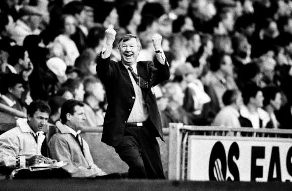 Sir Alex Ferguson, en 1997