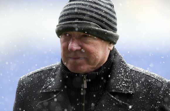 Sir Alex Ferguson, manager de Manchester United