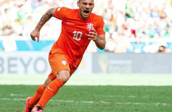 Sneijder incertain contre le Costa Rica