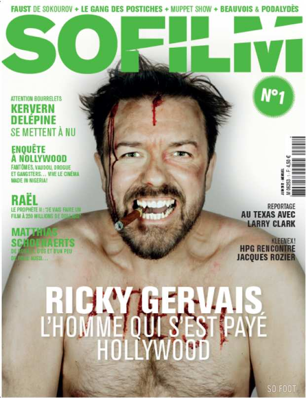 SO FILM - #1 - RICKY GERVAIS