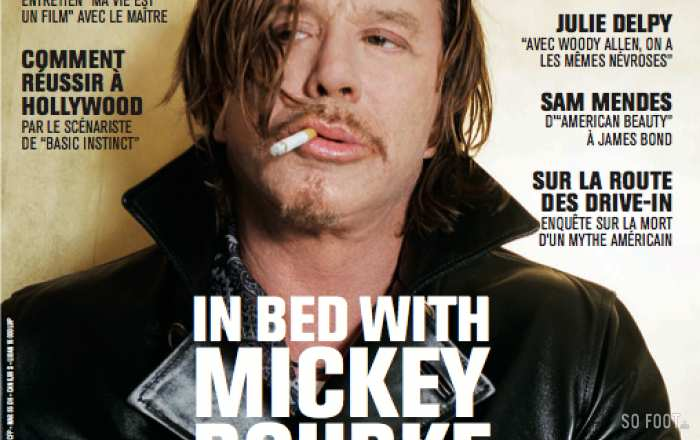SO FILM - #5 - MICKEY ROURKE