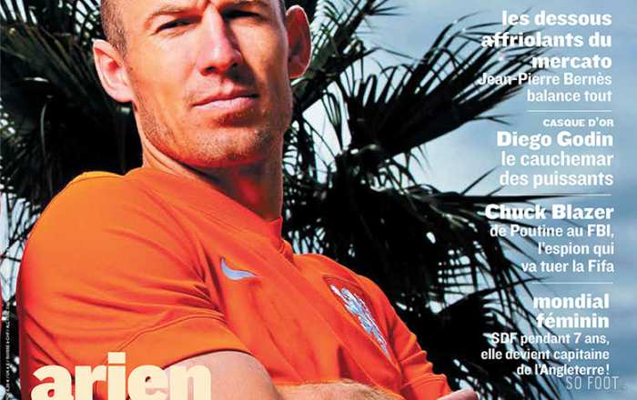 SO FOOT  #127 - Arjen Robben
