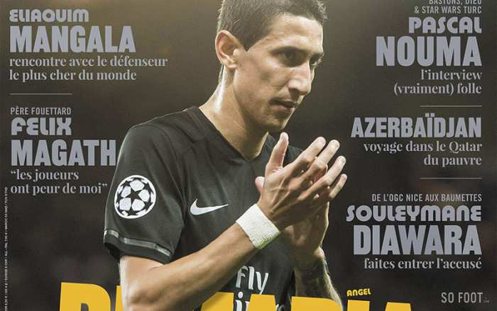 SO FOOT #130 – ANGEL DI MARIA
