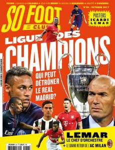 SO FOOT CLUB #36 - Ligue des champions