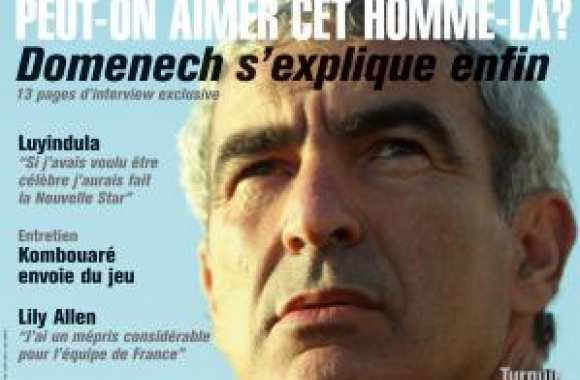 SO FOOT N°65 - Domenech s'explique enfin