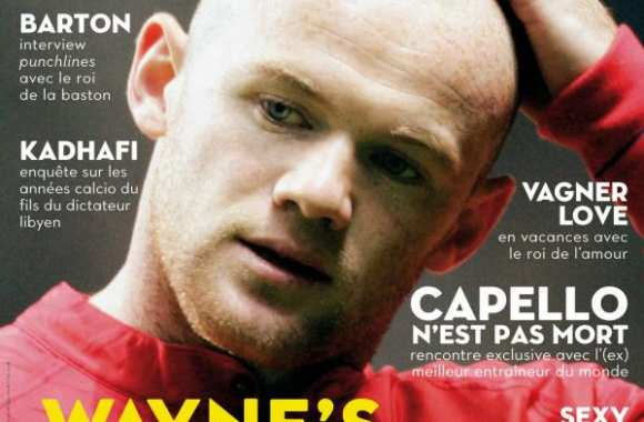 SO FOOT - N°85 - Wayne Rooney