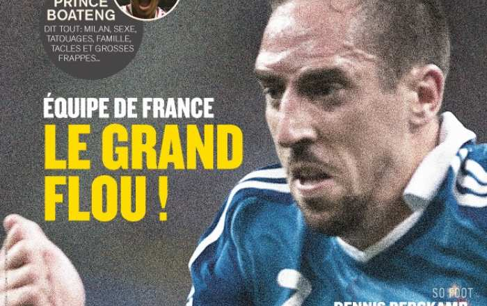 SO FOOT - N°96 - EQUIPE DE FRANCE