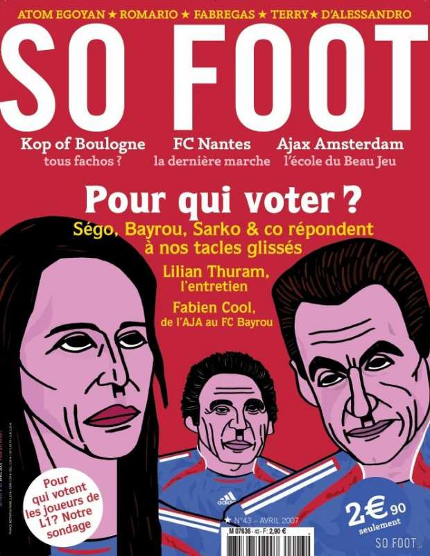 So Foot N�43 - Pour qui voter ?