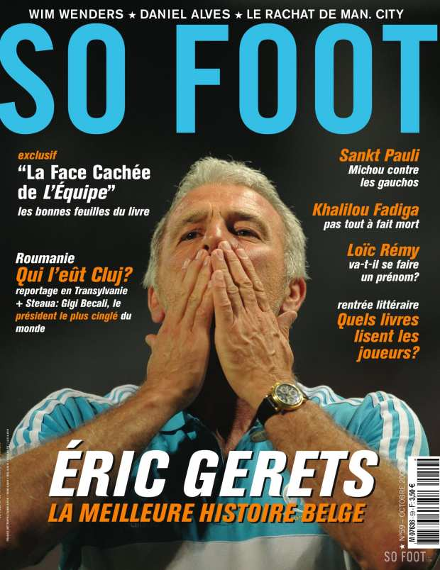 SO FOOT n�59 - en kiosque le 3 octobre