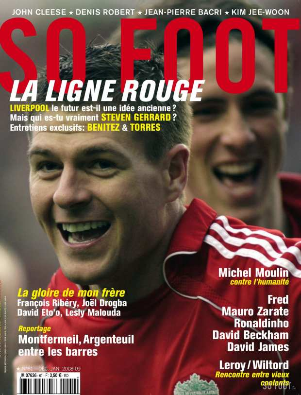SO FOOT n�61 - La ligne rouge