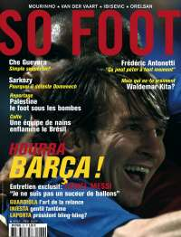 SO FOOT n�62 - Hourra Bar�a !