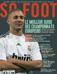 SO FOOT N�68 - Le guide des championnats europ�ens + Claude Puel, Ra�l, Michael Owen... + Super Poster