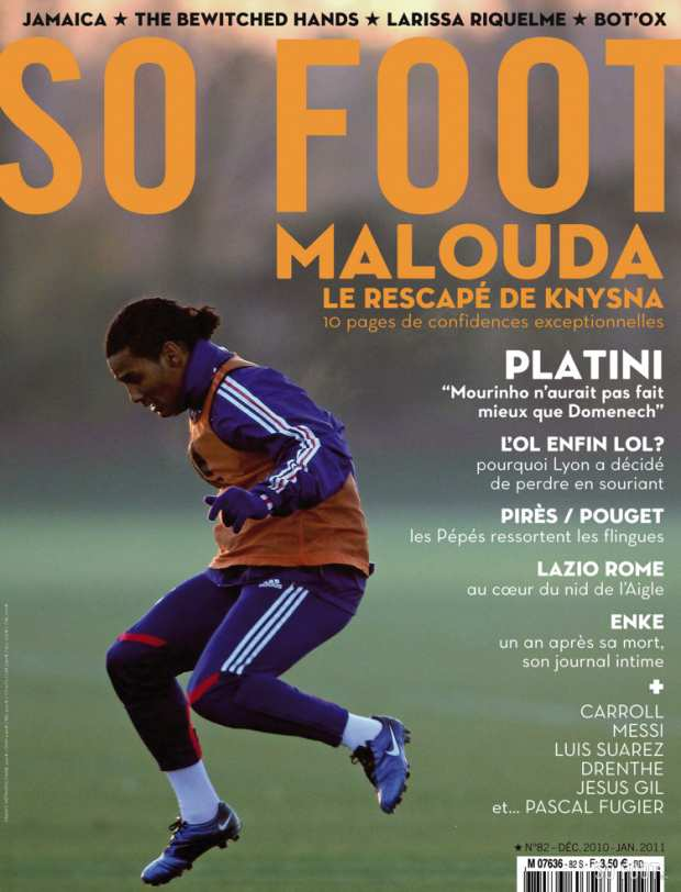 SO FOOT - N�82 - En Kiosque - Le 8 D�cembre