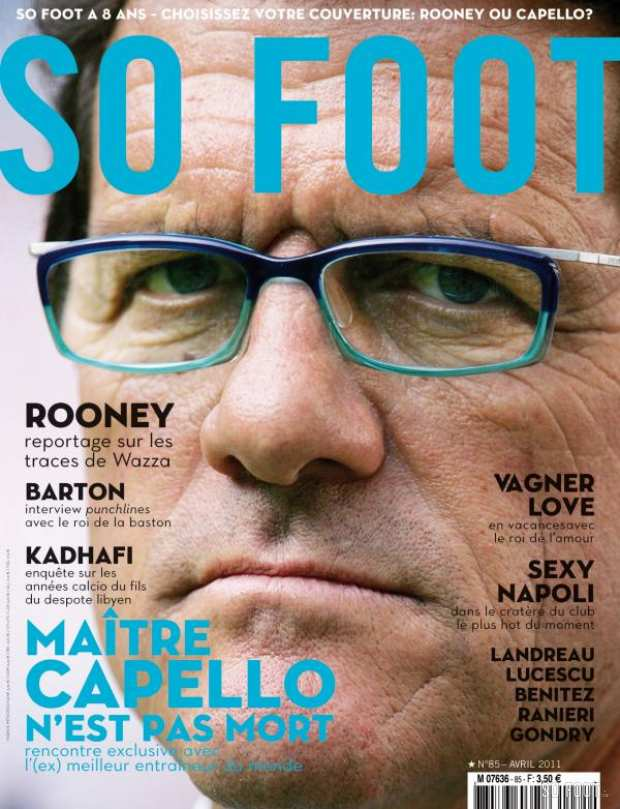 SO FOOT - N�85 - Fabio Capello