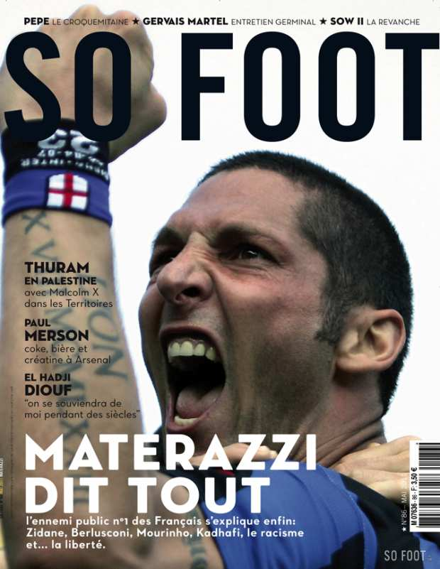 SO FOOT - N�86 - Marco Materazzi