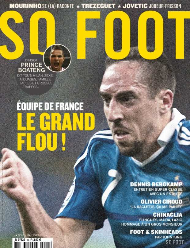 SO FOOT - N�96 - EQUIPE DE FRANCE