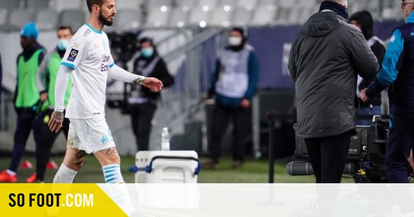 Trois matchs ferme de suspension pour Benedetto / France / Marseille / SOFOOT.com - SO FOOT