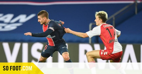 No Verratti, no party / Ligue 1 / J26 / PSG-Monaco (0-2) / SOFOOT.com - SO FOOT