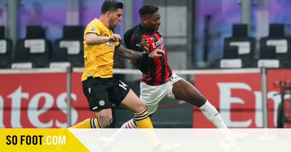 Milan sauve un point face à l'Udinese - SO FOOT