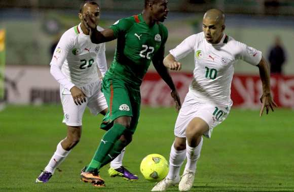 Sofian Feghouli face au Burkina