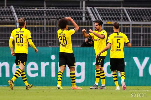 Strict minimum pour le Borussia Dortmund contre le Hertha Berlin