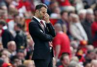 Ryan Giggs (MU) commence � prendre les m�mes poses que David Moyes
