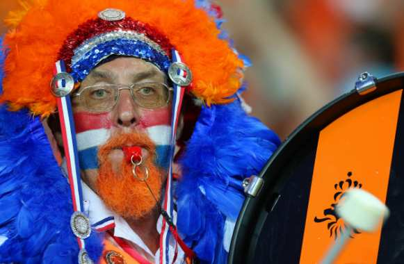 Supporter hollandais