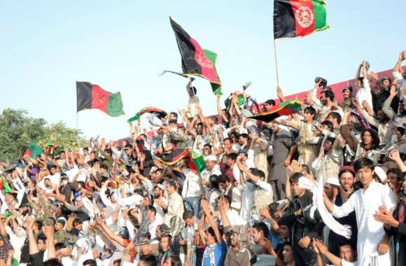 Supporters afghans