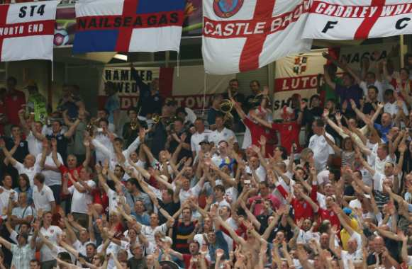 Supporters anglais