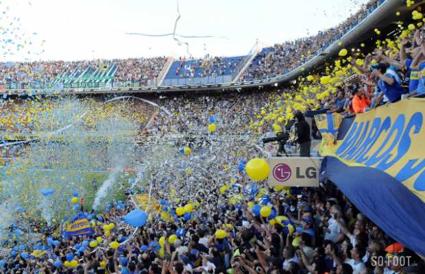Supporters de Boca Juniors