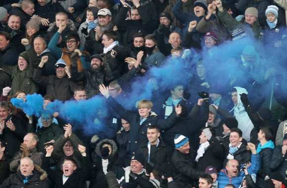Supporters de ManCity en déplacement à Stoke