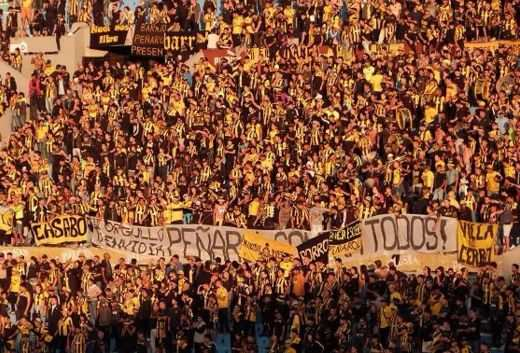Supporters du Penarol Montevideo