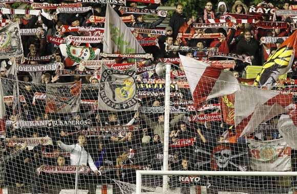 Supporters du Rayo Vallecano