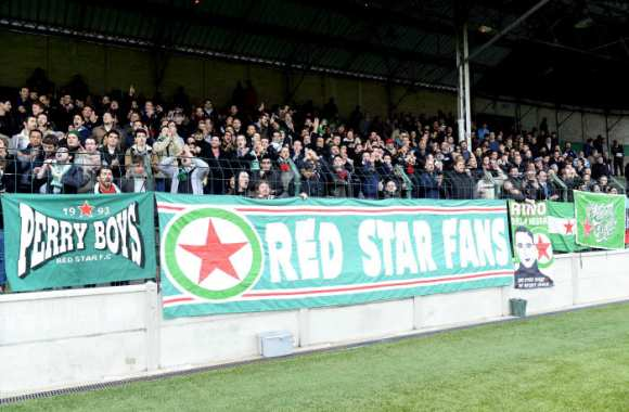 Supporters du Red Star