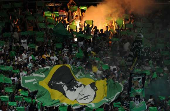 Supporters du Sporting Portugal