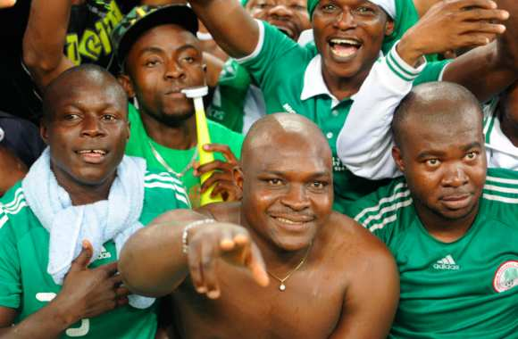 Supporters nigérians