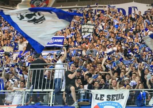 Supporters strasbourgeois
