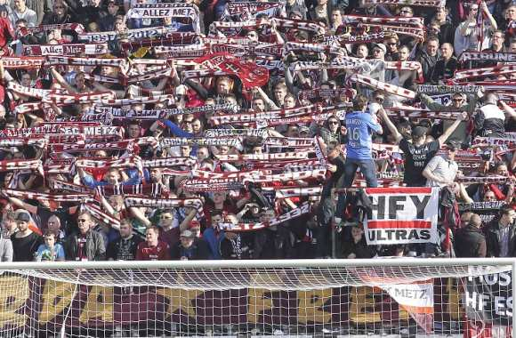 Supporters ultras messins
