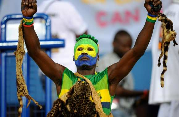 Supporteur gabonais