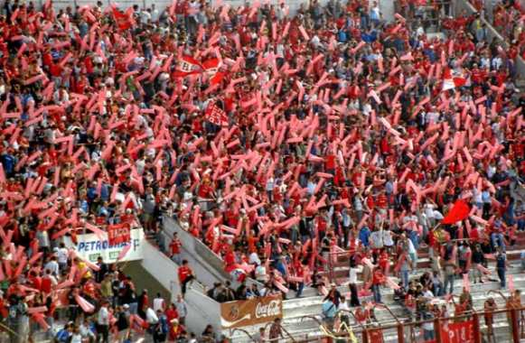 Supporteurs d'Independiente (Argentine)