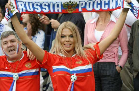 Supportrice russe